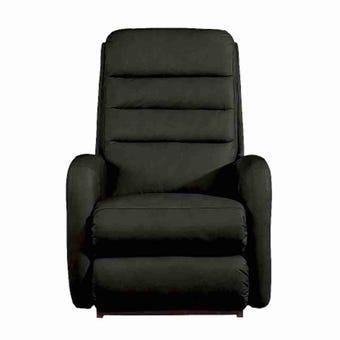 เก้าอี้ปรับเอนนอนไฟฟ้า La-Z-Boy 1PT-744-EM-714850 Forum หนังแท้ครึ่งตัว สี Black