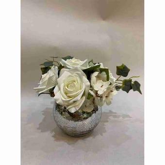8@NINE ดอกไม้ปลอม/Fr-34/G1/สีขาว