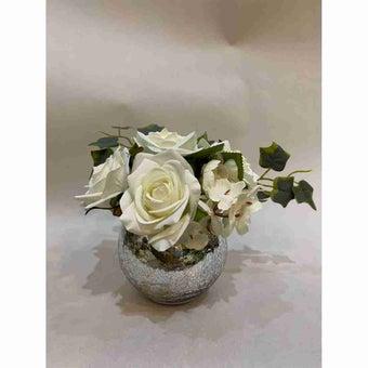 8@NINE ดอกไม้ปลอม/Fr-34/G1/สีขาว-01