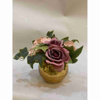 8@NINE ดอกไม้ปลอม/Fr-34/G2/สีชมพู