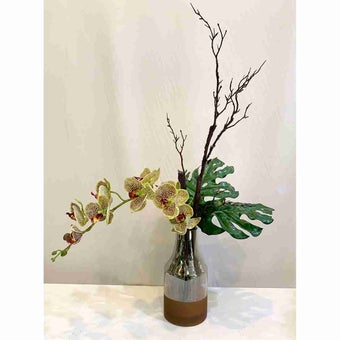 8@NINE ดอกไม้ปลอม/EN09-001/สีเขียว
