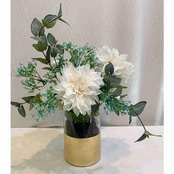 8@NINE ดอกไม้ปลอม/EN09-002/สีขาว-01