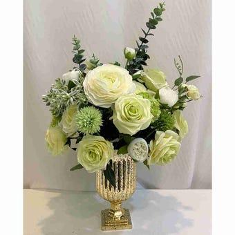 8@NINE ดอกไม้ปลอม/EN12-001/สีเขียว