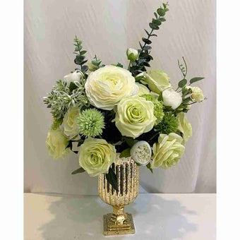 8@NINE ดอกไม้ปลอม/EN12-001/สีเขียว-01