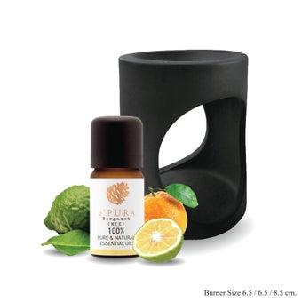a ฟุตPURA น้ำมันหอมระเหย100% กลิ่น เบอร์กามอท ผสม, ผลส้ม, ส้มเขียวหวาน, มะกรูดไทย 7