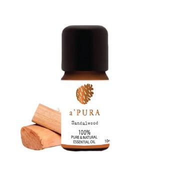 a'PURA น้ำมันหอมระเหย100% กลิ่นไม้แซนดร้าวูด  -A'PURA