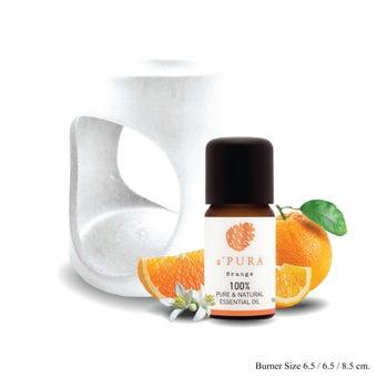 a ฟุตPURA น้ำมันหอมระเหย100% กลิ่น ส้ม7