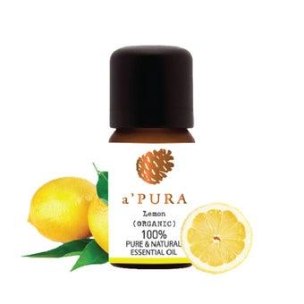 a'PURA น้ำมันหอมระเหย100% กลิ่นมะนาวเหลือง (ORGANIC GRADE ) -A'PURA