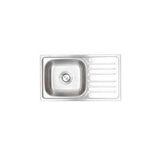HAFELE/อ่างล้างจาน1หลุม1พักขวา/495.39.285/สแตนเลส-00