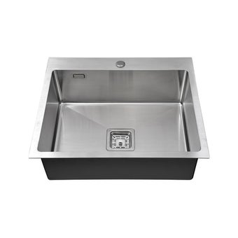 อ่างล้างจาน 1 หลุม TEKA รุ่น TQ 50 แถมฟรี ก๊อกน้ำเย็น รุ่น SKT-00