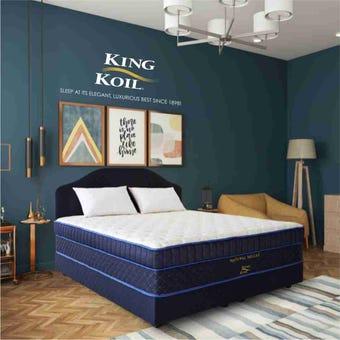 ที่นอน ที่นอนยางพารา สีสีฟ้า-SB Design Square