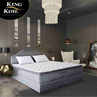 ที่นอน ที่นอนพ็อคเกตสปริง+โฟมสังเคราะห์ สีสีเงิน-SB Design Square