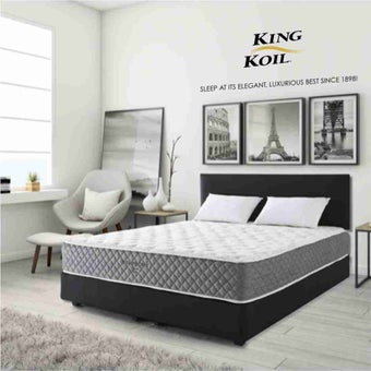ที่นอน ที่นอนพ็อคเกตสปริง+โฟมสังเคราะห์ สีสีเทา-SB Design Square