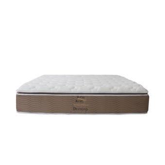 ที่นอน ที่นอนพ็อคเก็ตสปริง+ยางพารา สีสีน้ำตาล-SB Design Square