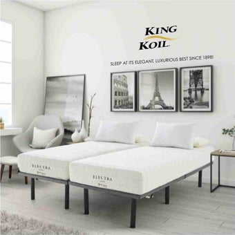 ที่นอน ที่นอนยางพารา สีสีขาว-SB Design Square