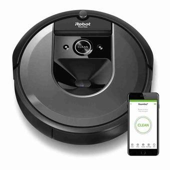 หุ่นยนต์ดูดฝุ่นอัตโนมัติ iRobot รุ่น Roomba i7 -IROBOT