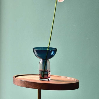 แจกัน Noonmoou Murphy vase Blue-Pink
