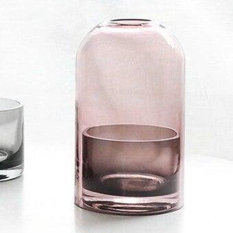 แจกัน Noonmoou Layer vase Grey-Pink