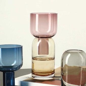 แจกัน Noonmoou UDS vase Yellow-Pink