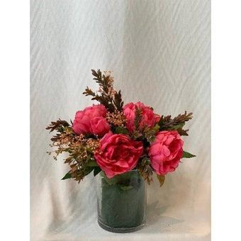 8@NINE ดอกไม้ปลอม/EN4 906/G-s/สีบานเย็น