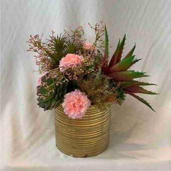 8@NINE ดอกไม้ปลอม/EN4 908/CG-m/สีชมพู