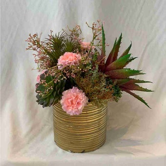 8@NINE ดอกไม้ปลอม/EN4 908/CG-m/สีชมพู-01