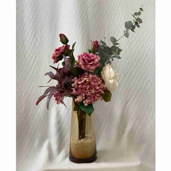 8@NINE ดอกไม้ปลอม/EN4 910/GG-m/สีชมพู