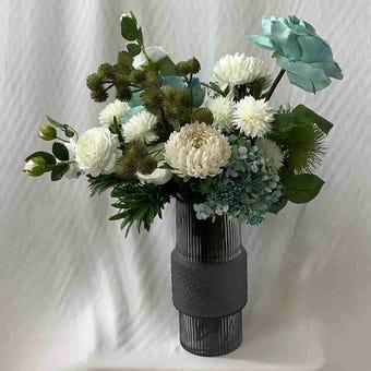 8@NINE ดอกไม้ปลอม/EN4 915/GGR-m/สีฟ้า