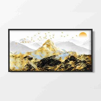 รูปพร้อมกรอบ Doseart รุ่น The Summit 80x40 cm-02