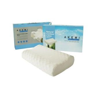 ชุดเครื่องนอน หมอน หมอนข้าง หมอนหนุนยางพารา สีสีขาว-SB Design Square