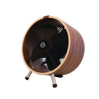 พัดลม VENZ รุ่น 0FWS09 WOOD STAND/Fan WF-12/Walnut-00