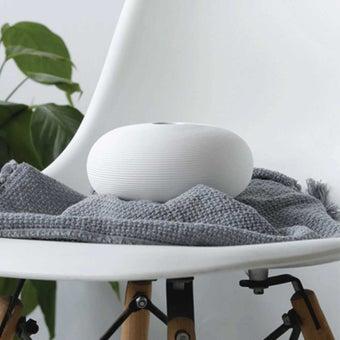 OP.UN Ceramic Vase CV0005 สีขาว01
