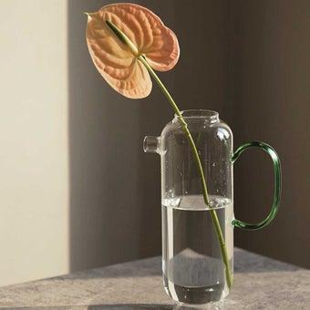OP.UN Glass Vase GV0002 สีใส01