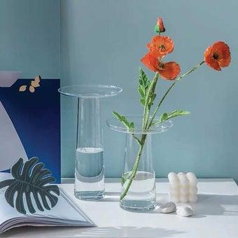 OP.UN Glass Vase GV0011_S สีใส1