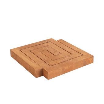 OP.UN Wood Tray WT0001 สีไม้อ่อน1