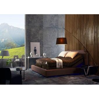 LOTUS เตียงปรับระดับไฟฟ้า รุ่น Slimflex II SET E SLIMFLEX II + MAJESTO I ขนาด 6 ฟุต จำนวน 1 หลัง