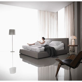Omazz เตียงปรับระดับไฟฟ้า Adjusto SET C ADJUSTO II + FRANCK COMFORT ขนาด 3 ฟุต จำนวน 1 หลัง แถมเครื่องนอน 6 รายการ-00