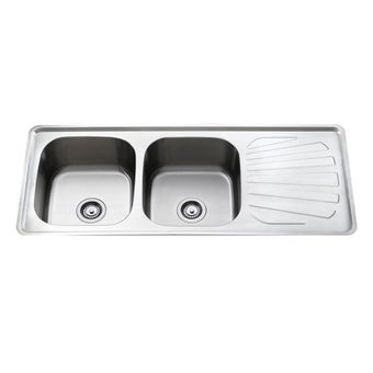 อ่างล้างจาน TEKA รุ่น T50 2B 1D แถมฟรี ก็อกน้ำเย็น