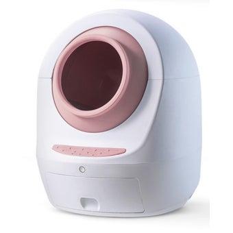 AUTOBOT x MEET2 ห้องน้ำแมวอัตโนมัติ สี Pink-01