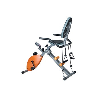 จักรยานออกกำลังกาย แบบนั่งปั่น Amaxs รุ่น AX331 สีส้ม