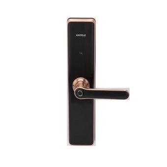 กลอนประตูดิจิตอล Hafele รุ่น EL7600/Copper (499.56.227)
