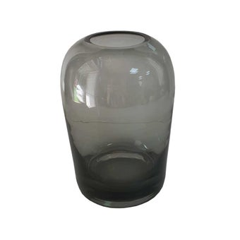 D'Atelier แจกันแก้วสีดำ#SB1159
