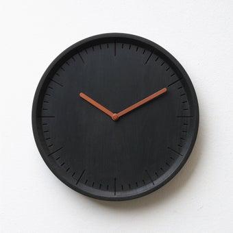 Pana objects นาฬิกาติดผนัง METER Charcoal Black B.Copper H.#PN-D029-BK-CP สีดำ1