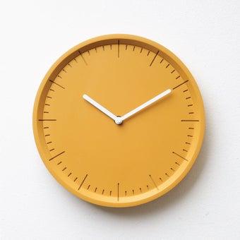 Pana objects นาฬิกาติดผนัง METER Sunday Sunshine Yellow B.White H.#PN-D029-YL-WH สีเหลือง1