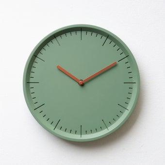 Pana objects นาฬิกาติดผนัง METER Willow Green B.Copper H.#PN-D029-GN-CP สีเขียว1
