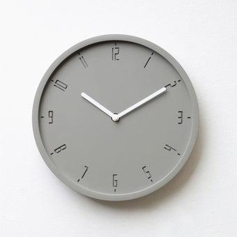 Pana objects นาฬิกาติดผนัง TIMY-C-Elementary Grey B.White H.#PN-D061-GY-WH สีเทา1