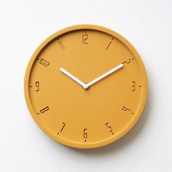 Pana objects นาฬิกาติดผนัง TIMY-C-Sunday Sunshine Yellow B. White H.#PN-D061-YW-WH สีเหลือง1