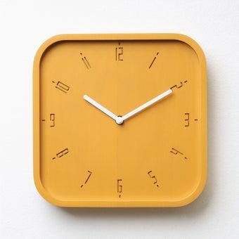 Pana objects นาฬิกาติดผนัง TIMY-S-Sunday Sunshine Yellow B.White H.#PN-D062-YE-WH สีเหลือง1
