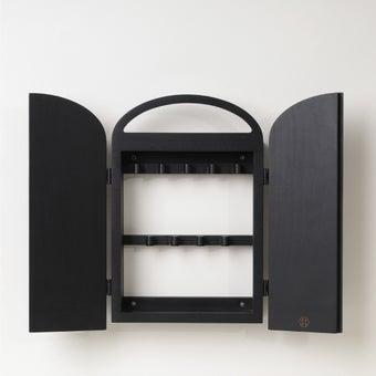 Pana objects ตู้กุญแจ MIITI Charcoal Black B.#PN-D064-BK สีดำ3