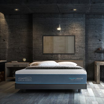 ที่นอน Back Pedic รุ่น Galaxy Braun ขนาด 3.5 ฟุต แถมฟรี หมอน 1 ใบ4